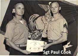 Pvt. Paul Cook